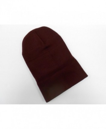 Long Beanie Maroon Warm Winter