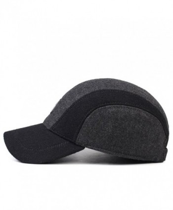 Mens Winter Lined Adjustable Baseball in Men's Baseball Caps