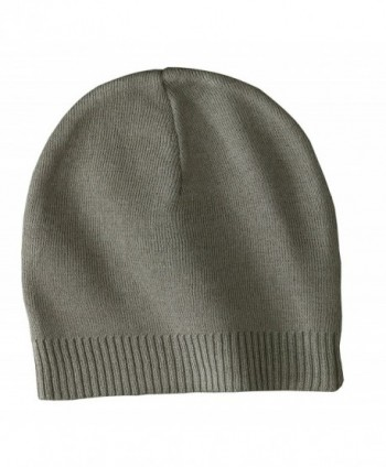 Port Authority Men's 100% Cotton Beanie OSFA - Olive - CB1196SGDHN