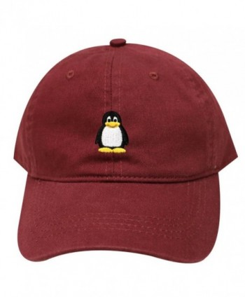 City Hunter Penguin Baseball Burgundy