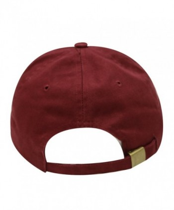 City Hunter Penguin Baseball Burgundy in Men's Baseball Caps