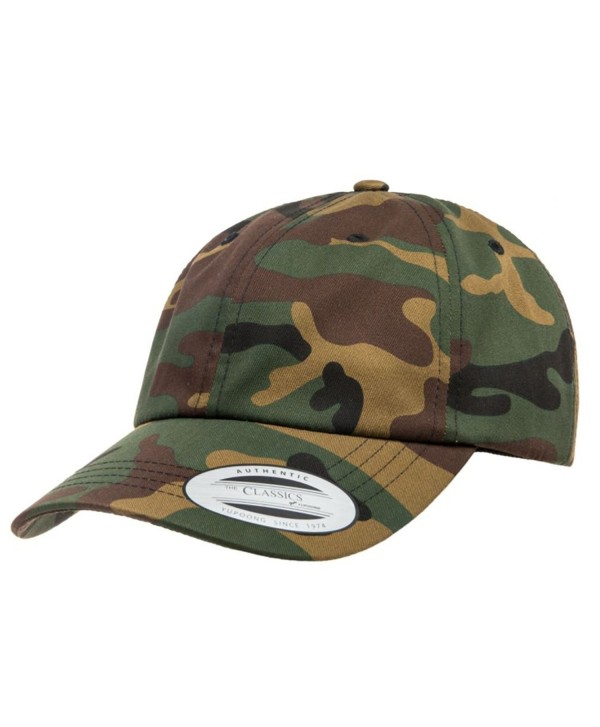 Yupoong Low Profile Cotton Twill Strapback 6245CM by Flexfit - Camo - CI186C2WSWS