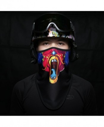 Runtlly Winter Outdoor Snowboard Bandana in Men's Balaclavas