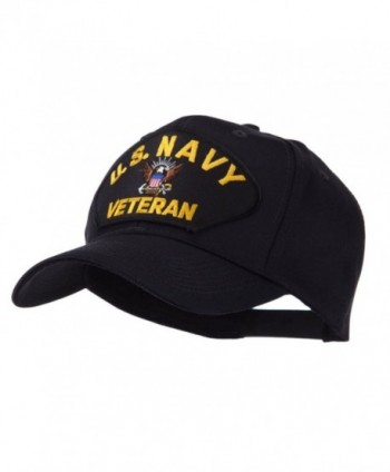 Veteran Military Large Patch Cap