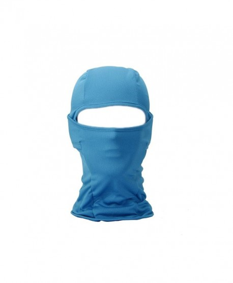 FENTI Women & Men Sport Balaclava - Motorcycle Ski Cycling Full Face Mask - Blue - CJ1253JECIF