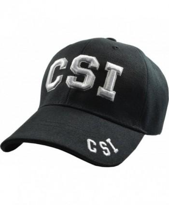 CSI Crime Scene Investigator Embroidered Baseball Hats (5 Styles) LV - LA - NY - Csi - CQ11TL93SF7