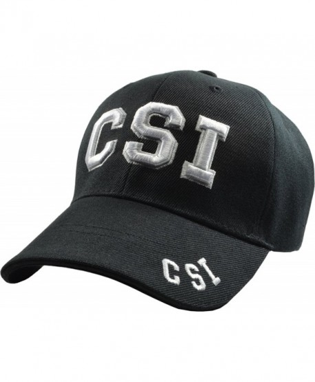 CSI Crime Scene Investigator Embroidered Baseball Hats (5 Styles) LV - LA - NY - Csi - CQ11TL93SF7