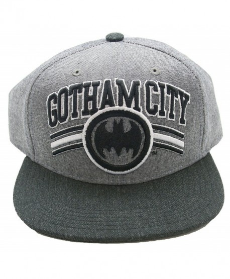 DC Batman Gotham City Snapback Adult Hat Cap - C2127K3B7OJ