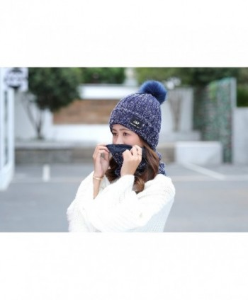 IRELIA Womens Knitted Fleece Beanie in Men's Skullies & Beanies