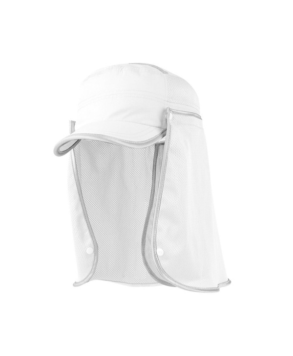 Juniper Taslon UV Fidel Cap - White - CX11LV4GLOF