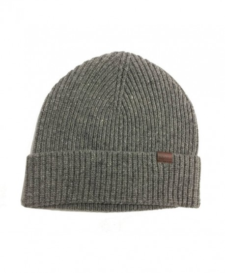 Rich Cotton Beanie Wool Dark - Dark Grey - C8189QKSYIW
