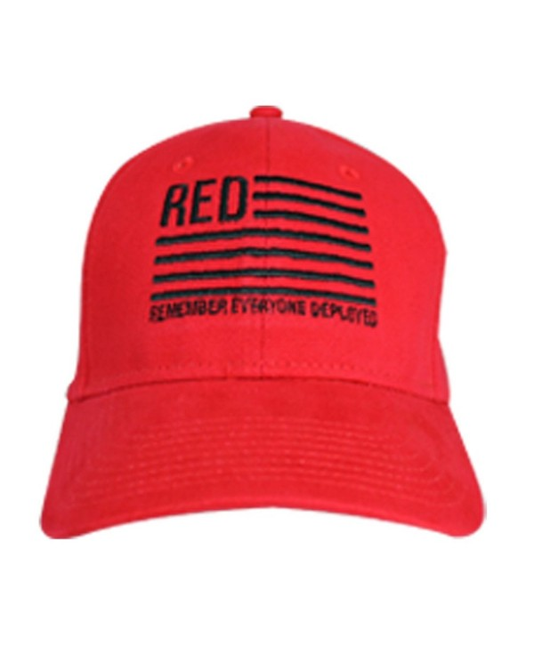 Otto Caps Red Remember Everyone Deployed Cap. Red - CO128CUMFCH