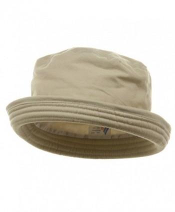 Washed Twill Fashion Hat-Khaki - CW111GHV061