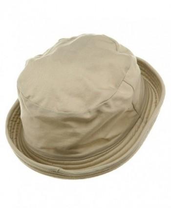 MG Washed Twill Fashion Hat Khaki in Men's Sun Hats
