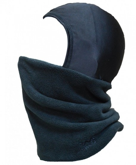 Adults Ski Balaclava - Fleece Neck Tube With Silky Head Cover - CT116GXUK4D