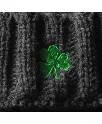 Man Aran Acrylic Embroidered Shamrock