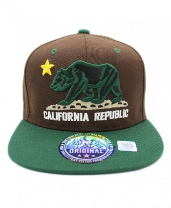 LAFSQ Embroidered California Republic Snapback