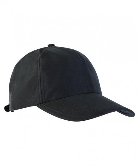 MIER Quick Dry Baseball Cap UV SPF 50+ Sun Hat for Men and Women- Black - CJ182H3885T