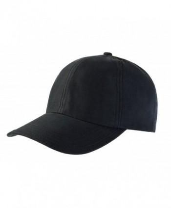 MIER Quick Baseball Women Black in Men's Baseball Caps