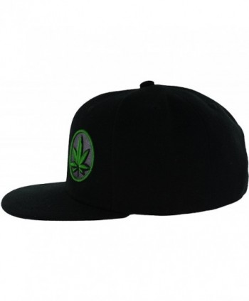 Leaf Collection Premium Puff Embroidery in Men's Baseball Caps