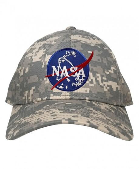 Low Profile NASA Insignia Logo Patch Camo Cap - Acu - CV12IQ5JANT