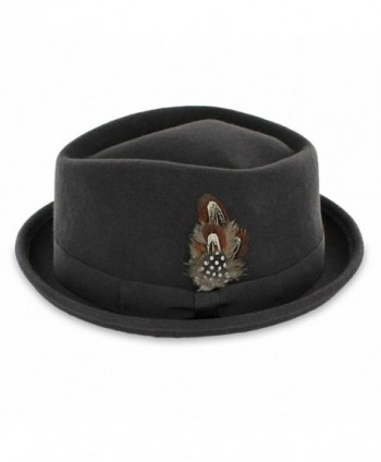 Belfry Jazz Diamond Porkpie Large in Men's Fedoras