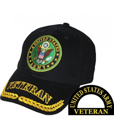 Eagle Emblems Men's U.S. Army Veteran Hat - black - CX11BOXJGXV
