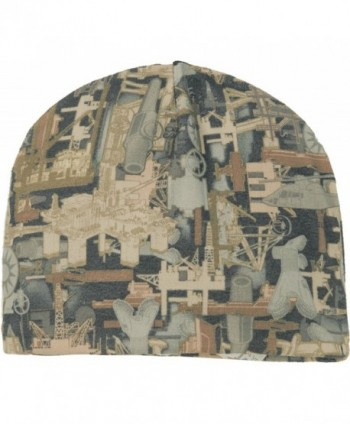 Joe's USA Camouflage Fleece Beanies in 5 Colors - Oilfield Camo - CR11Q5PBRHV