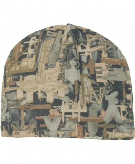Joe's USA Camouflage Fleece Beanies in 5 Colors - Oilfield Camo - CR11Q5PBRHV