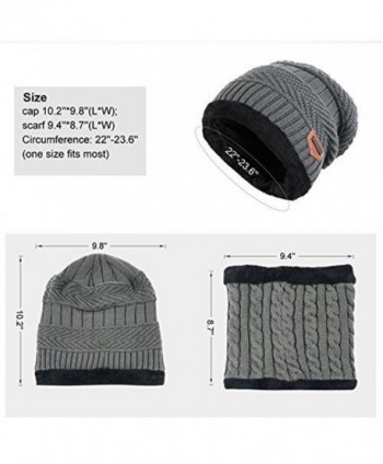 Azornic Knitted Beanie Circle Outdoor in Men's Skullies & Beanies