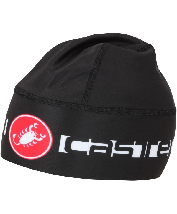 Castelli Viva Thermo Skully Hat - Black - CE11NQQ7DWZ
