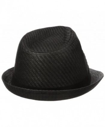 Levis Straw Fedora Twill Black
