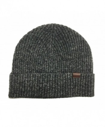 Rich Cotton Beanie Charcoal Grey - Charcoal Grey - CG189QRMWEI
