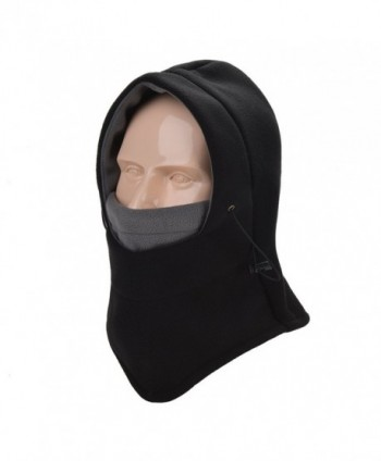 Taball Lightweight Balaclava Windproof Ski Face Mask For Men- Women and children - Black - CC189HMXOK4