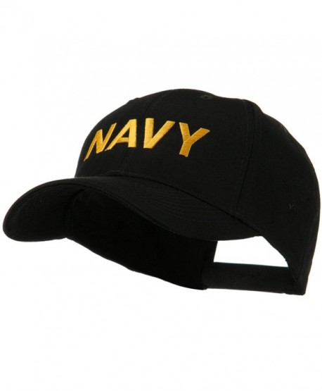 Embroidered Military Cap - Navy W38S57F - CM11E8TXJA3