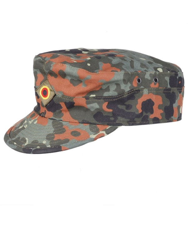 Heerpoint Reproduction German Flecktarn Camouflage Army Field Hat Baseball Cap Size L - CU12043T79J