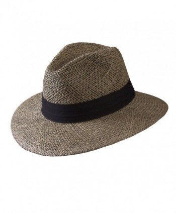 Seagrass Sun Hat by Turner Hat (Cabana Hat) - Straw - C511P6VDQY7
