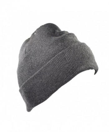 Tek Thinsulate Cuffed Beanie Charcoal