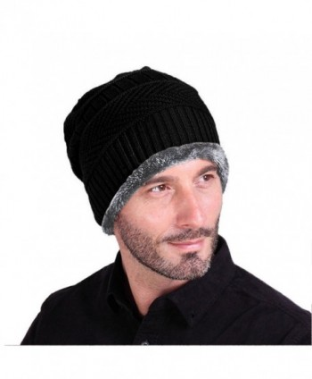 Tirain Stylish Slouchy Beanie Fleece in Men's Skullies & Beanies