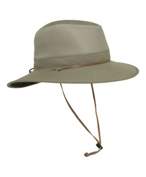Solar Escape Outback Men's UV Protection Hat-Olive - CD12DHWVJQD