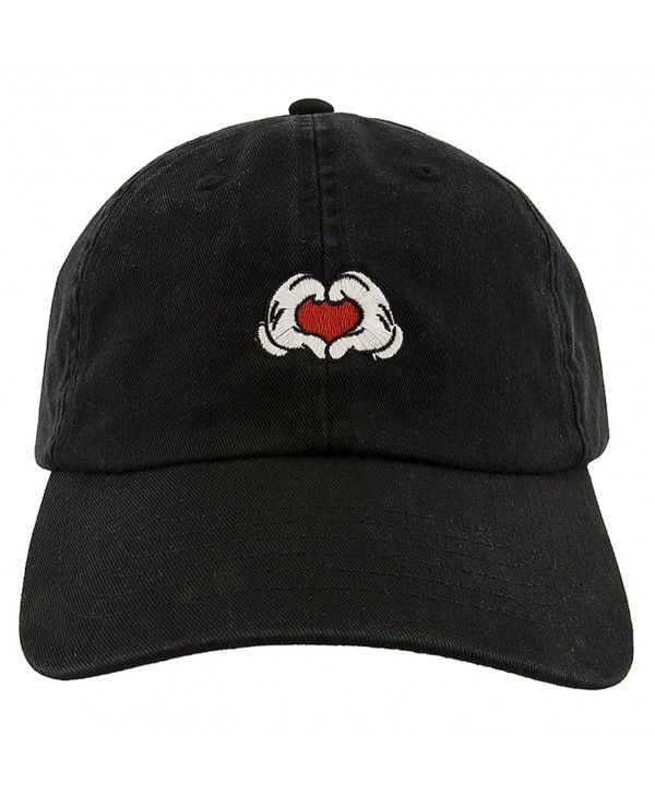 Disney Parks Mickey Hands & Heart Baseball Cap - CW1807Z2286