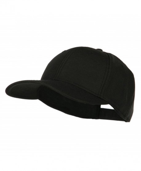 Solid Linen Pro Style Cap - Black - CW11LUH54YB