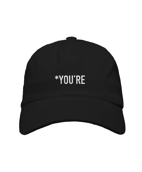 RedLight You're Embroidered Baseball Dad Hat Strapback - CY18752HR66