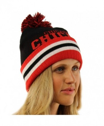 Unisex Chunky Stretchy Hat Chicago