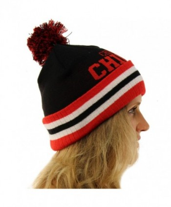 Unisex Chunky Stretchy Hat Chicago in Men's Skullies & Beanies