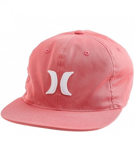 Hurley Tumbler Mens Fitted Hat Flexfit Gym Red - 6dl - C61282AVL8Z