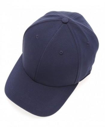 Plain Polyester Twill Baseball Elastic in Men's Baseball Caps