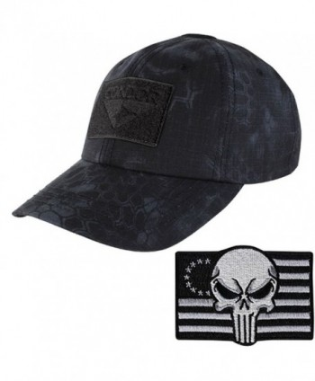Condor Tactical Cap with Punisher Morale Patch Bundle - Typhon - CR12N17V5SM