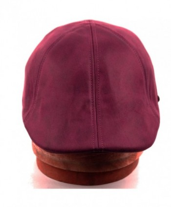 EPOCH Leather newsboy Hunting Burgundy