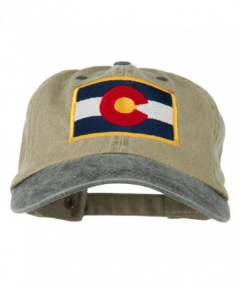 Colorado Flag Embroidered Two Tone